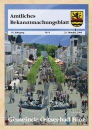 Nr. 8 vom 21. Oktober 08 - Gemeinde Binz