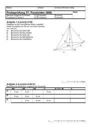 Probeprüfung 37: Pyramiden (906) - Gegenschatz.net