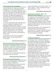 Vereinsnachrichten 191208.pub - Gemeinde Bisingen