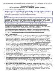 Hausordnung für die öffentlichen Einrichtungen - Gemeinde ...