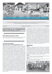 VdK-Außensprechtag in Wald - Gemeinde WALD