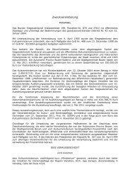 Zielvereinbarung Siegesdenkmal - Stadtgemeinde Bozen