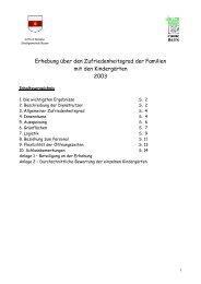 Ergebnisse 2003 - Stadtgemeinde Bozen