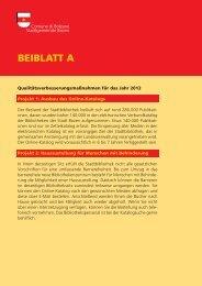 Datenblätter - Stadtgemeinde Bozen