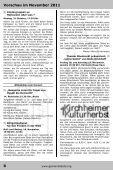 November 2011 - Gemeindebote - Seite 6