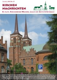 Kirchenblatt Juni / Juli 2012 Nr. 27 - Gemeinde Machern