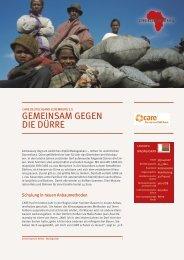 care deutschland-luxemburg e.v. - gemeinsam gegen die dürre