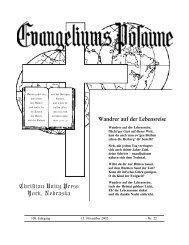 15. November 2002 for web - Gemeinde Gottes