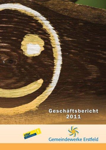 Geschäftsbericht 2011 - Gemeindewerke Erstfeld