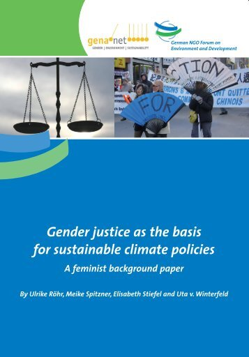 Gender justice as the basis for sustainable climate ... - Gender CC
