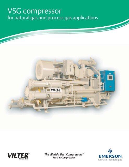 VSG compressor - Emerson Climate Technologies