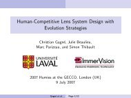 Human-Competitive Lens System Design with Evolution Strategies