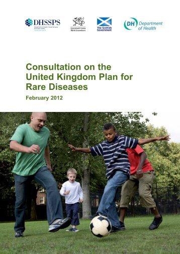 Consultation on the United Kingdom Plan for Rare Diseases - Gov.uk