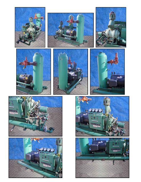 Sullair Ammonia Screw Compressor ? 200 HP Mfg: Sullair Model