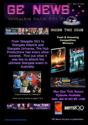 GE News ~ Women Talk Sci Fi - Issue 18.pub