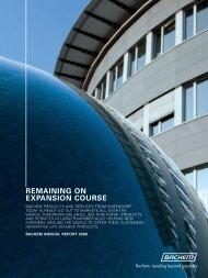 Annual Report 2009 - Bachem