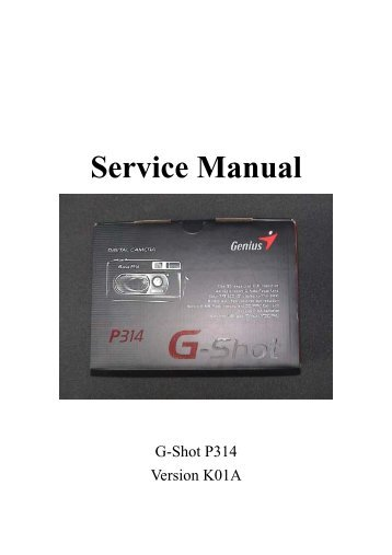Genius G-Shot P713 Drivers for Windows XP