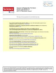 Terraces in Phylogenetic Tree Space - University of Arizona