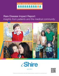 Rare Disease Impact Report for Web - Shire HGT
