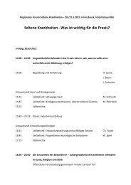 Regionales Forum Seltene Krankheiten – 20 - Genodermatosen.at