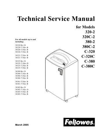 Technical Service Manual - Genius