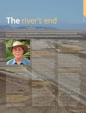 The River's End/Divided Waters - Department of Geosciences ...