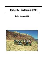 Israel & Jordanien 1998