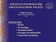 Magyarország földtani térképe 1:100 000 MÁFI, 2005. október 27.