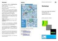 Workshop - GeoBranchen
