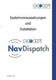 Systemvoraussetzungen und Installation - GEOCEPT GmbH