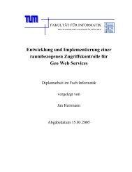 Entwicklung und Implementierung einer ... - GeoBranchen