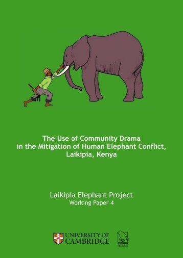 Laikipia Elephant Project - University of Cambridge Department of ...