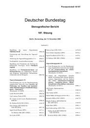 Deutscher Bundestag - GeoBranchen