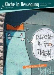 Sparen und Investieren - Gemeindekolleg der VELKD