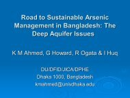 The Deep Aquifer Issues - Harvard University Department of Physics