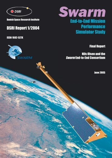 Swarm End-to-End Mission Performance Simulator ... - Geomagnetism