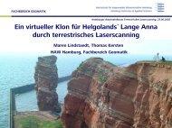 Datenauswertung - Geomatik-hamburg.de