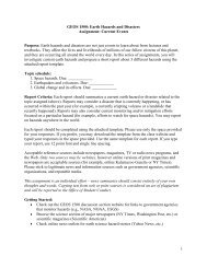 current event homework