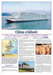 China exklusiv - Karawane Reisen