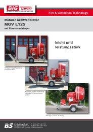 MGV L125 leicht und leistungsstark - Big Tempest