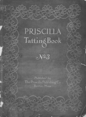The Priscilla Tatting Book #3