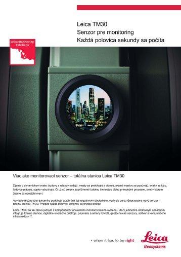 Prospekt TM30 - Geotech