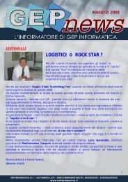 GEP NEWS MAGGIO 2008 - GEP Informatica Srl