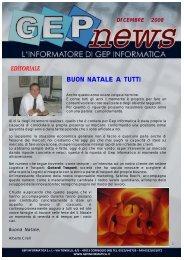 GEP NEWS DICEMBRE 2008 - GEP Informatica Srl