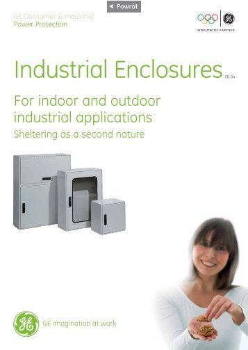 Insulated wall mounting cabinets - G E Power Controls