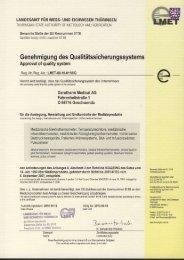CE Zertifikat - Geratherm