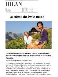 La crème du Swiss made - Gerda Spillmann