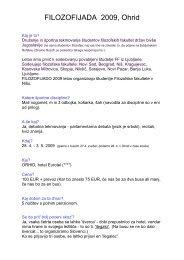 Splo?ne informacije - germanistika.NET