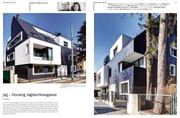 jsg – Housing Jagdschlossgasse - gerner°gerner