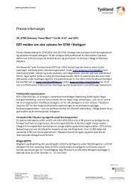 39. GTM Germany Travel Mart™ fra 05. til 07. mai 2013